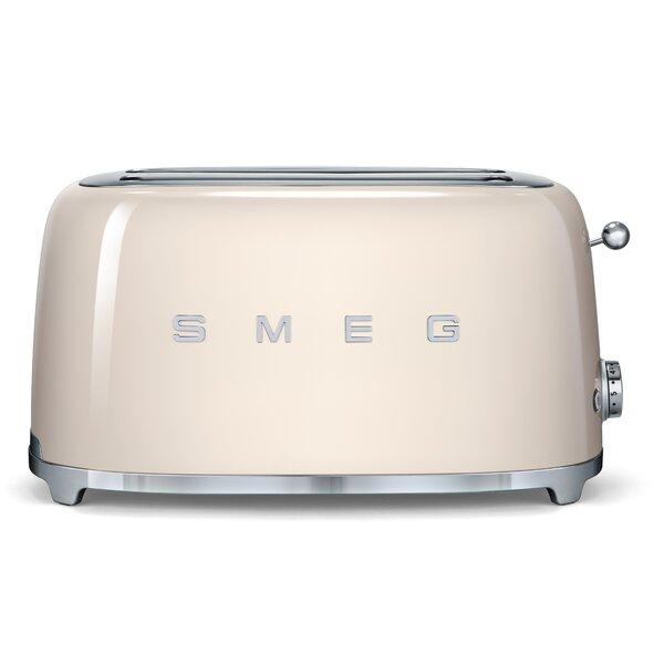 50s Style 4 Slice Toaster by SMEG