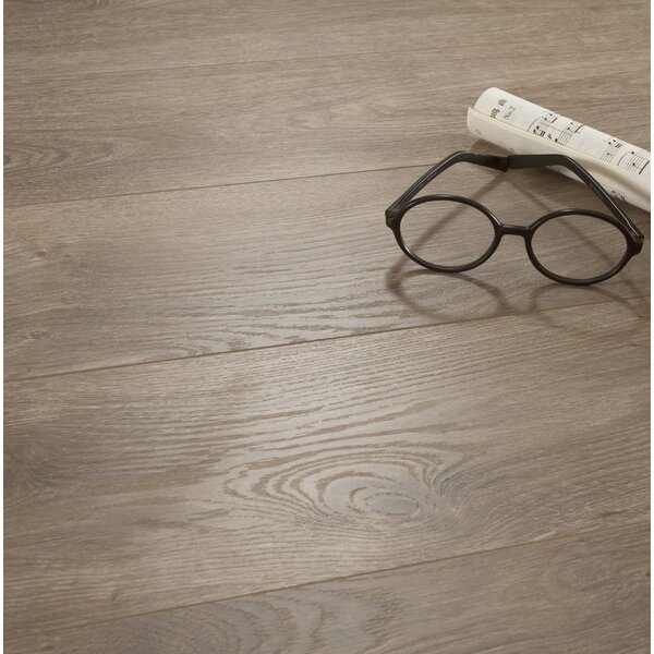 Legno 7 x 48 x 8mm Oak Laminate Flooring in Napa Stone by Patina Design