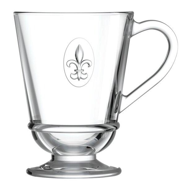 Fleur De Lys 9 oz. Coffee Mug by La Rochere