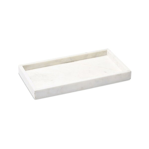 Williamsburg Marble Accent Tray by Couleur Nature