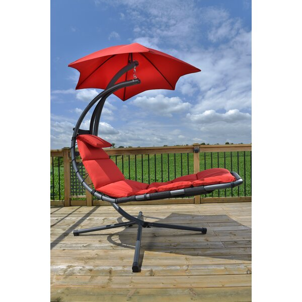 Maglione Hanging Chaise Lounger with Stand by Ebern Designs Ebern Designs