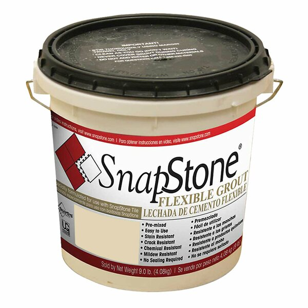 Urethane Flexible Grout 9 Lb Pail In Mushroom by SnapStone
