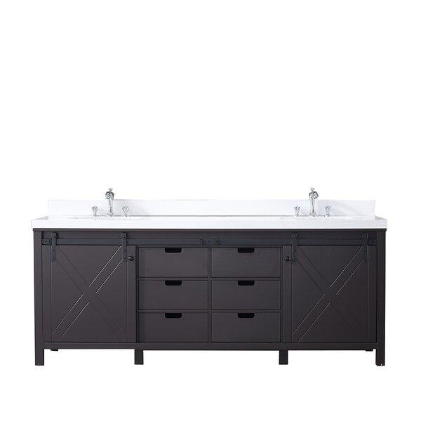 Schmidt 84 Double Bathroom Vanity Set
