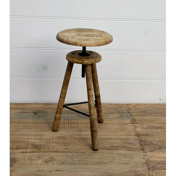 Wareham Classic Adjustable Height Bar Stool by Williston Forge