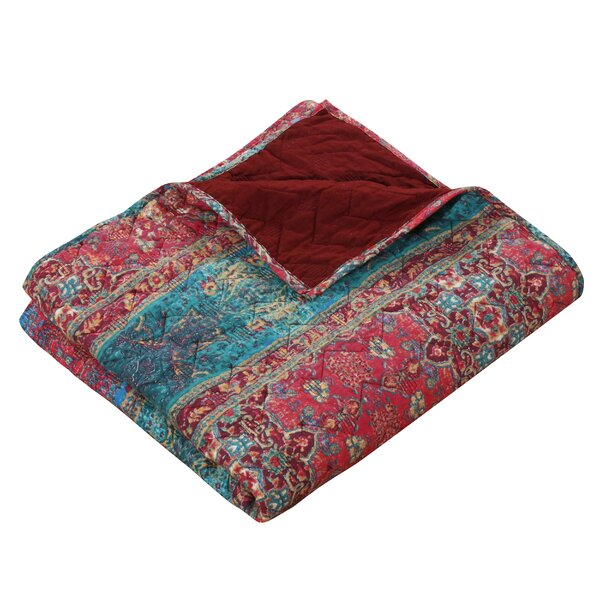 Marchelle Cotton Sunset Throw by Bungalow Rose