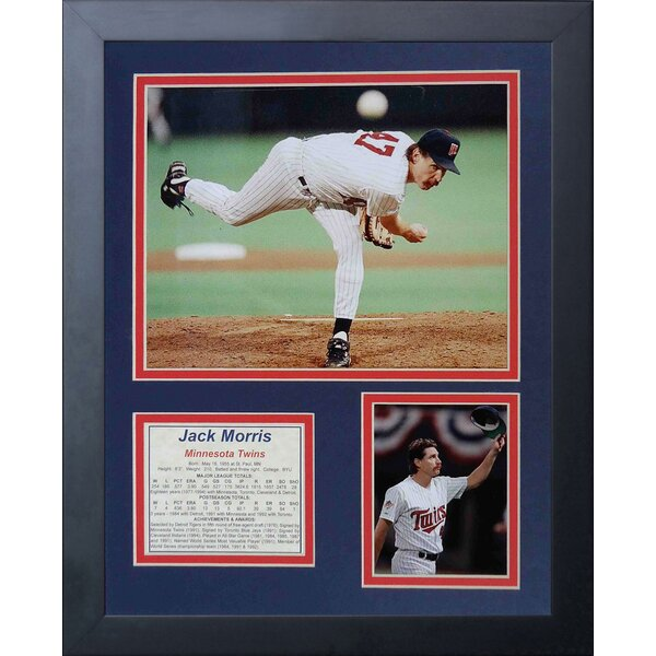 Jack Morris Framed Memorabilia by Legends Never Die