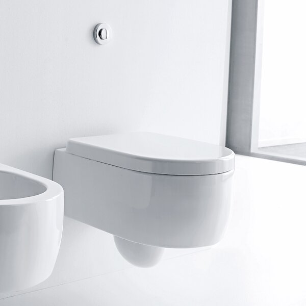 Flo Dual Flush Elongated Toilet Bowl by WS Bath Collections