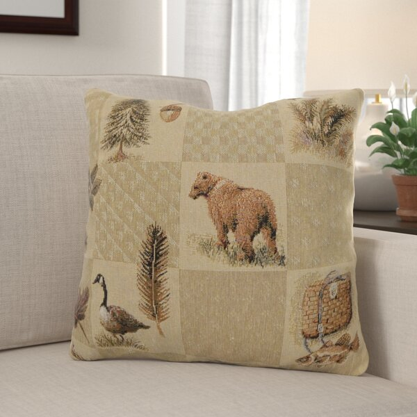Brodie Pine Lodge Throw Pillow (Set of 2) by Millwood Pines
