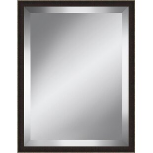 Orren Ellis Textured Accent Mirror