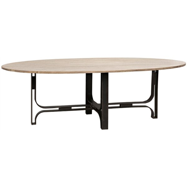 Adrien Solid Wood Dining Table By Noir