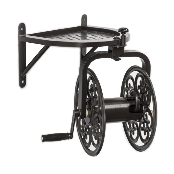 Navigator Multi Directional Steel Wall Mounted Hose Reel by Liberty Garden