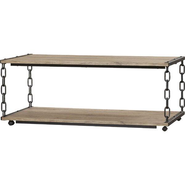 Yuma Floor Shelf Coffee Table With Storage By Loon Peak