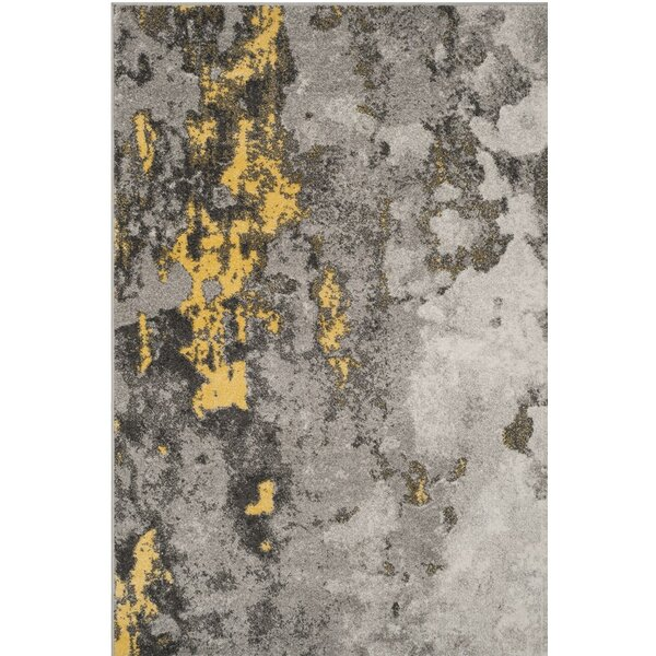 Costa Mesa Gray/Yellow Area Rug by Trent Austin Design