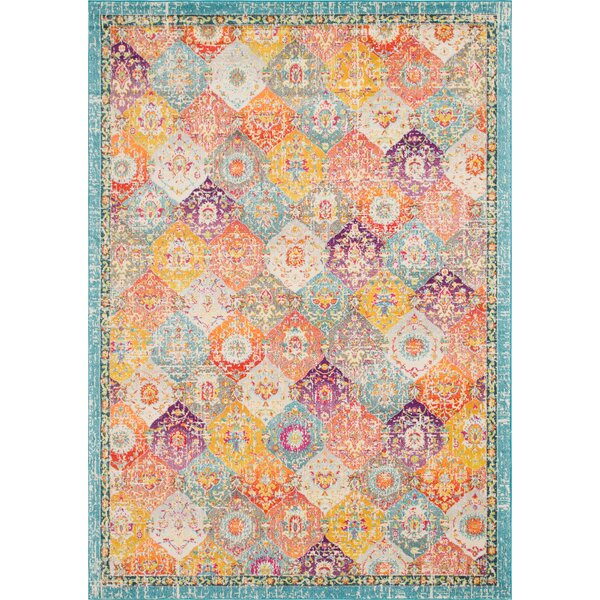 Ernst Gold/Green Area Rug by Bungalow Rose