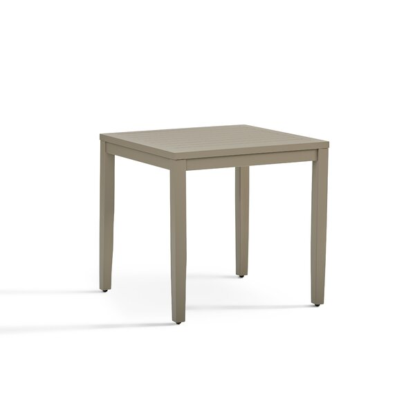 Rhiannon Aluminum Side Table by South Sea Rattan