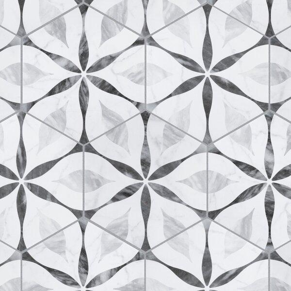 Dark Grey Hexagon Tile Wayfair