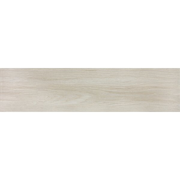 Vanderbilt 6 x 24 Porcelain Wood Look Tile in Sand by Parvatile