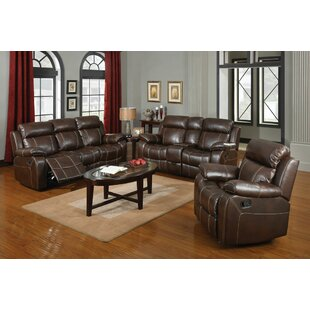 Chestnut Reclining Configurable Living Room Set Darby Home Co