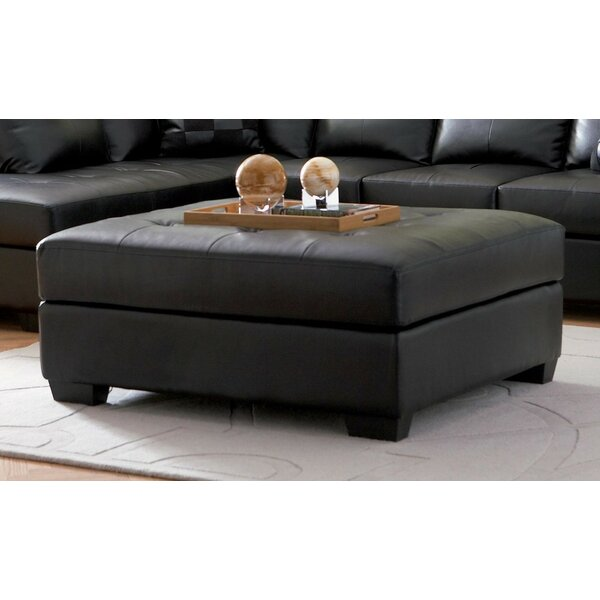 Nunley Tufted Ottoman by Red Barrel Studio