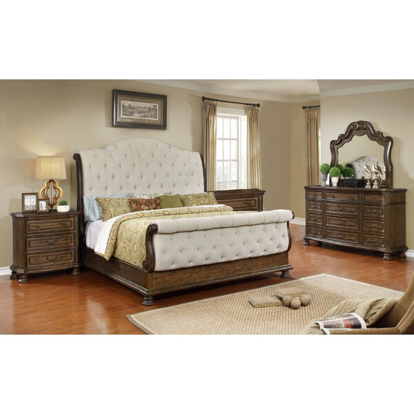 Niall Sleigh 5 Piece Bedroom Set by Charlton Home