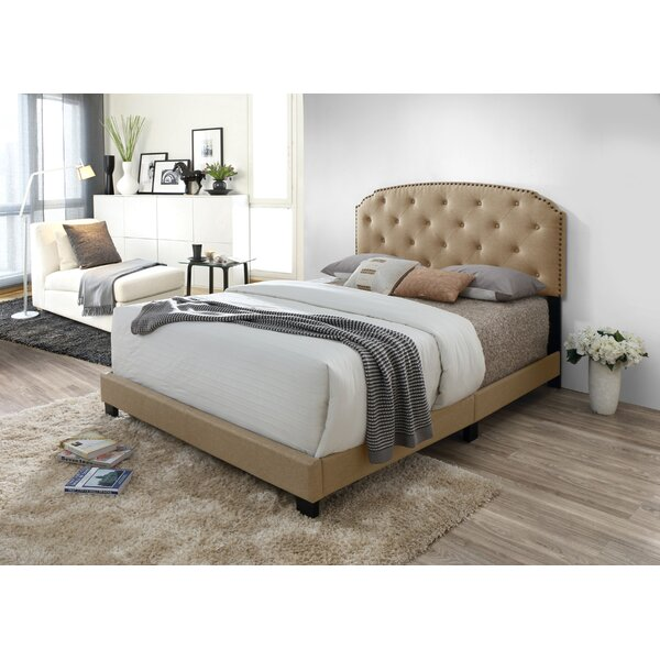 Mettler Upholstered Standard Bed by Alcott Hill
