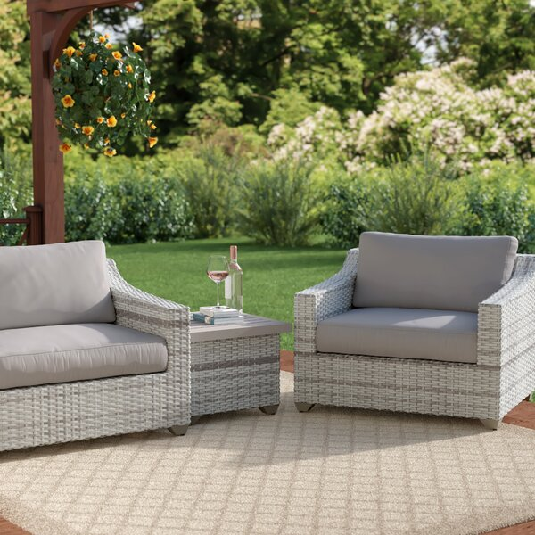 Waterbury 3 Piece Sofa Seating Group with Cushions by Sol 72 Outdoor