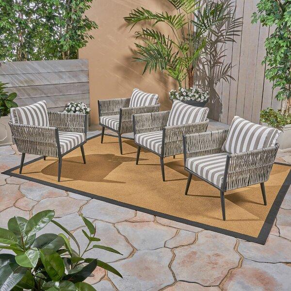 Giunta Patio Chair (Set of 4) by Brayden Studio