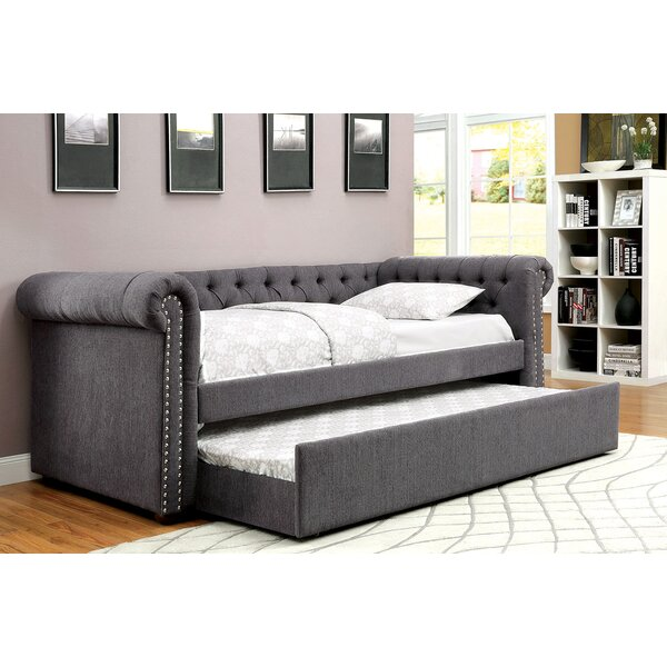 Baggs Daybed with Trundle by Canora Grey