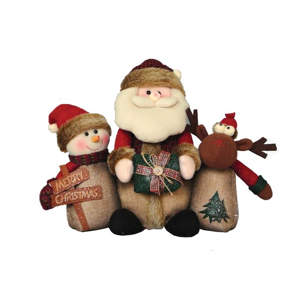 Timber Folk Stuffed Holiday Accent by The Holiday Aisle