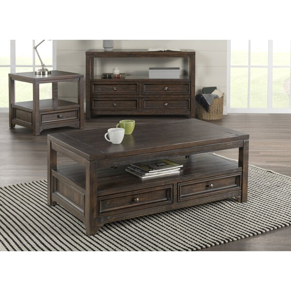 Flynn End Table With Storage By Canora Grey