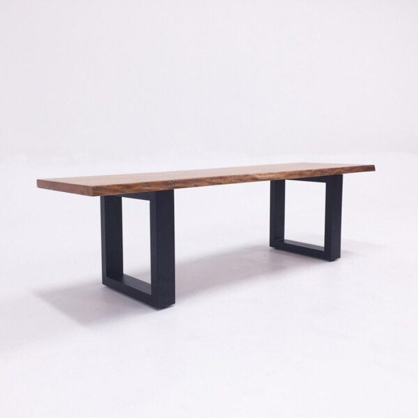 Zimmer Wood Bench By Union Rustic Best