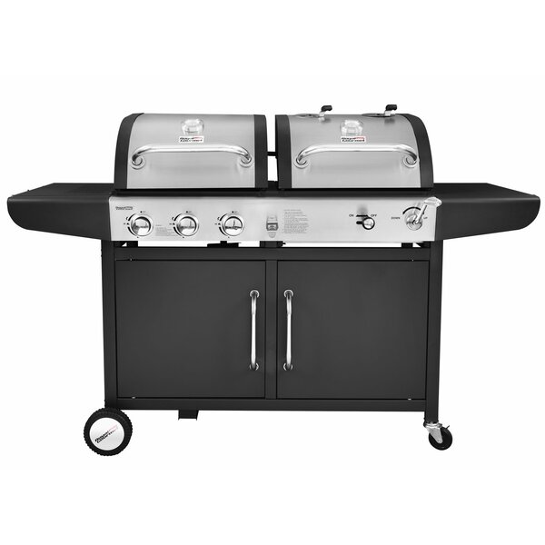 Performance 3 Burner Liquid Propane Gas and Charcoal Grill by Royal Gourmet Corp