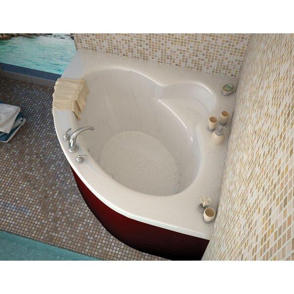 Trinidad 66.5 x 84 Drop In/Corner Soaking Bathtub by Spa Escapes
