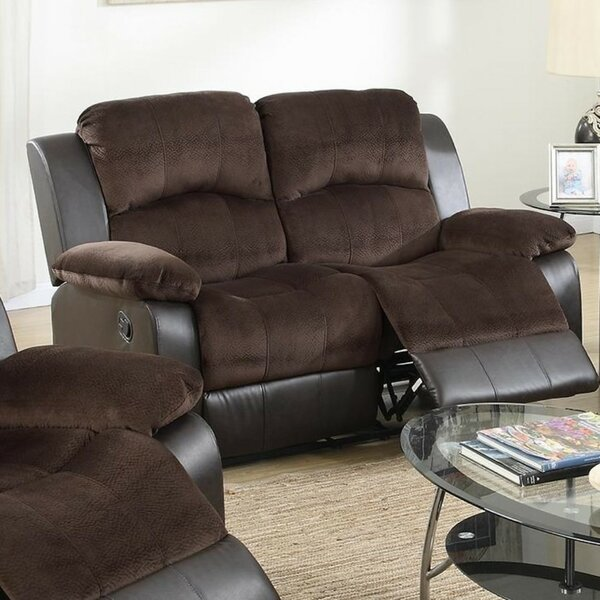 Pannell Reclining Loveseat by Winston Porter