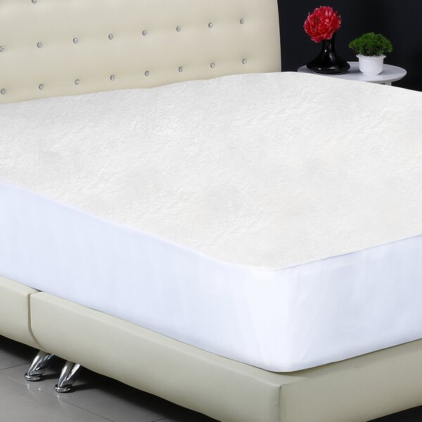 Plush Fitted Hypoallergenic Waterproof Mattress Protector by Protect-A-Bed