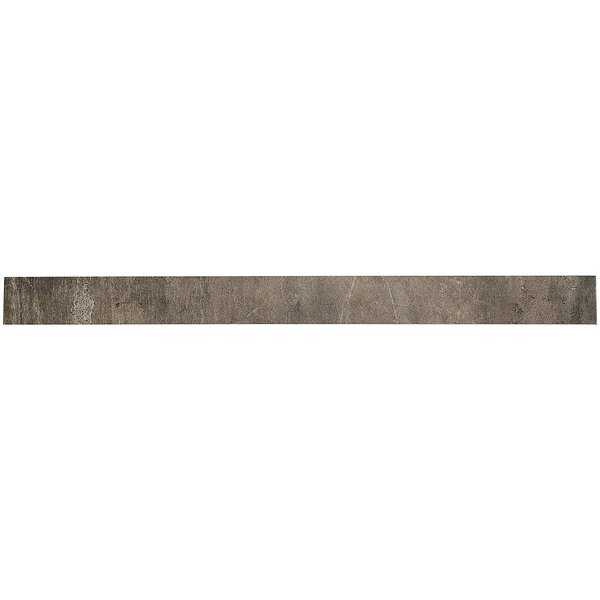 Rowe Plank 4 x 48 Porcelain Field Tile in Midnight by Itona Tile