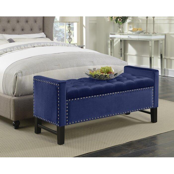 Super Carlie Upholstered Storage Bench Evergreenethics Interior Chair Design Evergreenethicsorg