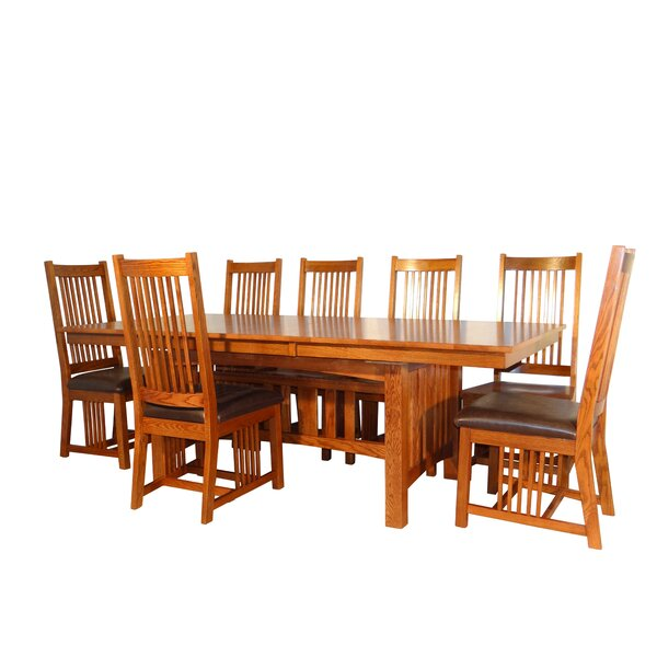 Schuller 7 Piece Extendable Dining Set by Millwood Pines