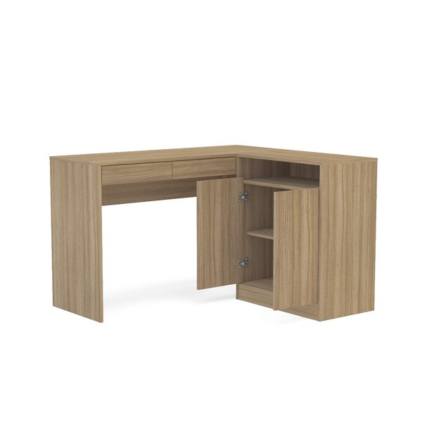 L-Shape Corner Desk by Boahaus LLC