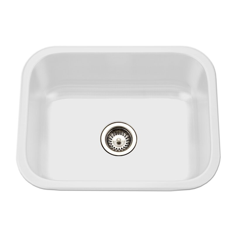 White Porcelain Kitchen Sink | Wayfair