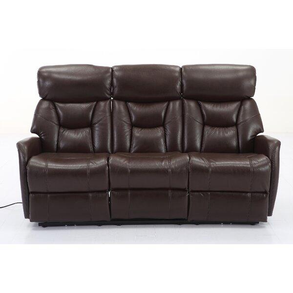 Grip Dual Reclining Sofa by Red Barrel Studio