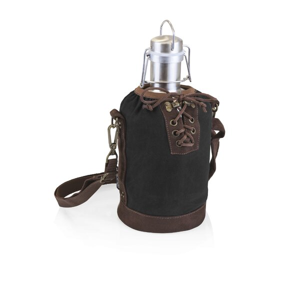 Insulated Stainless Steel 64 oz. Growler with Tote by LEGACY