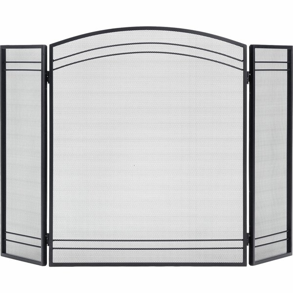 3 Panel Steel Fireplace Screen by ShelterLogic