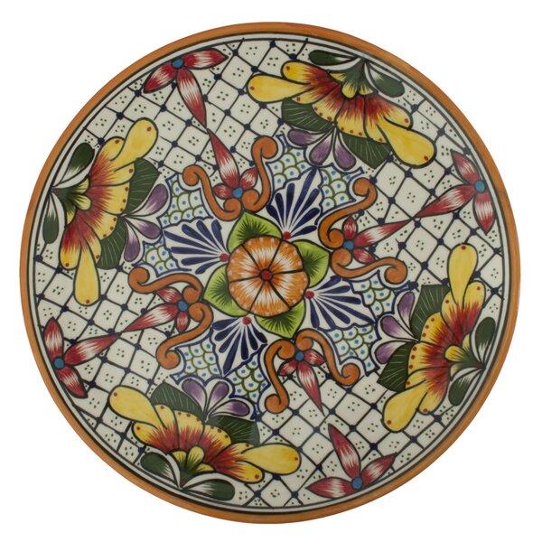 Pedro Alba Talavera Happy Tradition Platter by Novica