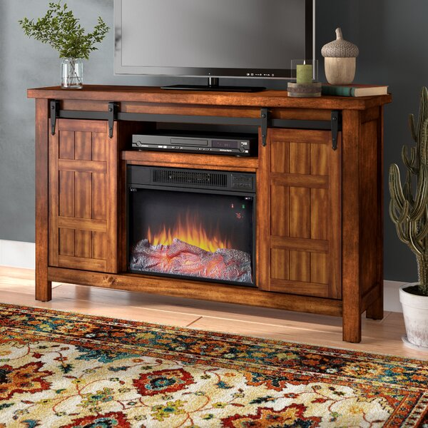 Alfredson Media Electric Fireplace by Loon Peak