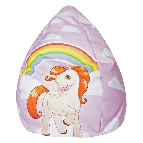 Unicorn Bean Bag Chair by Zoomie Kids