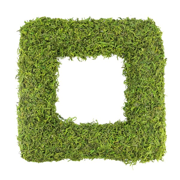 Reindeer Moss Square Artificial Spring Floral Wreath by Northlight Seasonal