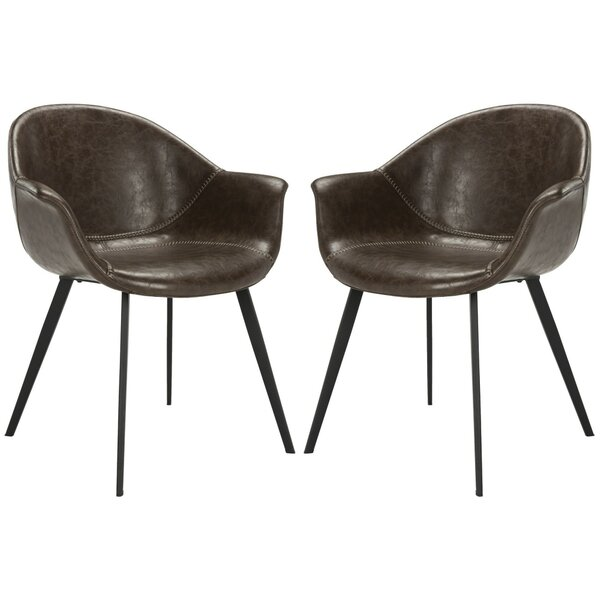 Mariana Upholstered Dining Chair (Set of 2) by 17 Stories