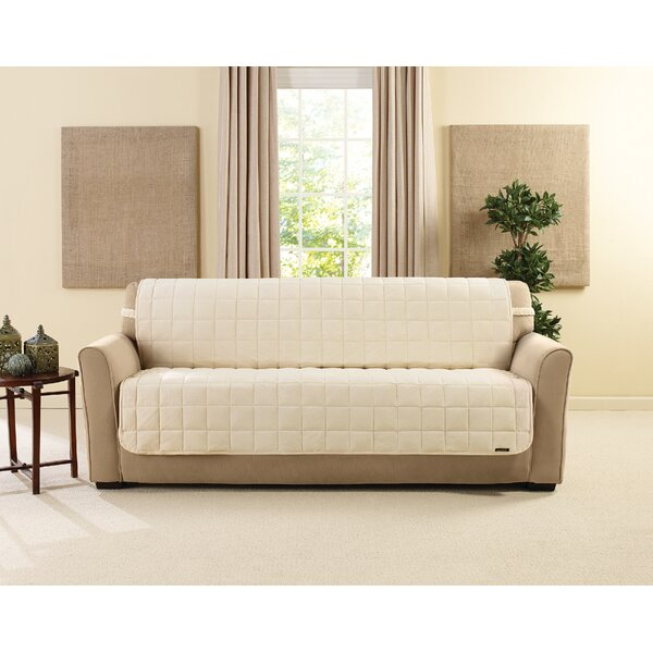 Deluxe Box Cushion Sofa Slipcover by Sure Fit