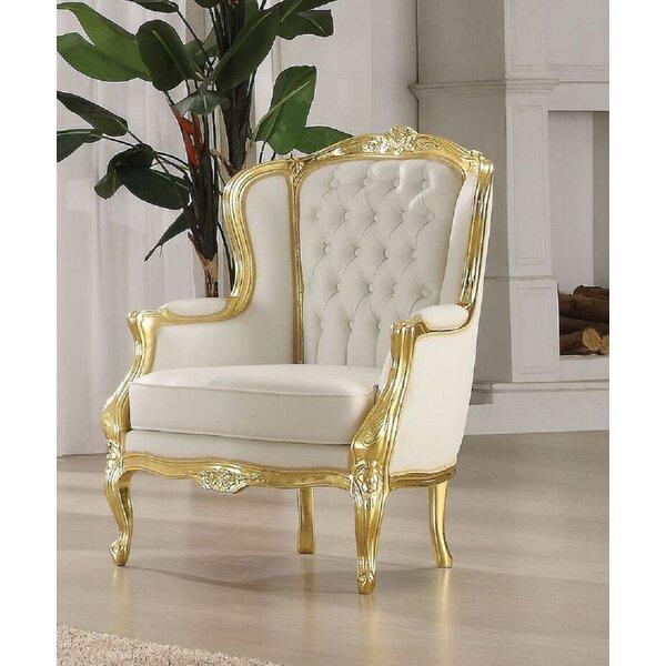 Islais Wingback Chair by Rosdorf Park